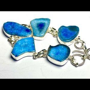 Handmade Jewelry - Solar Agate Bracelet